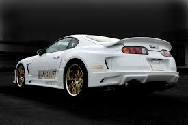 toyota white car white cars toyota back view vehicles tuning toyota supra