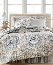 Macy S Bed And Bath Closeout Aidan Reversible Bedding Ensemble Created For Macy U0027s