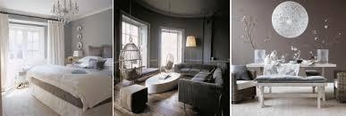 chambre ton gris couleur gris
