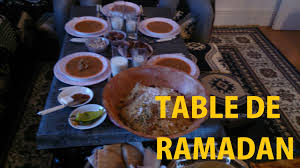 de cuisine ramadan table de ramadan de iftar 2015 saha aftorkom