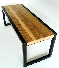 wood and metal bench u2013 amarillobrewing co