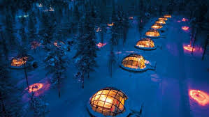 Glass Igloos Give Visitors A Chance To See The Northern Lights Up