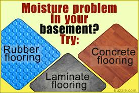 flooring for wet basements to avoid seepage and moisture patches