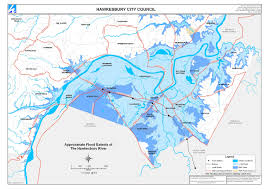 flood map flood extent maps hawkesbury city council