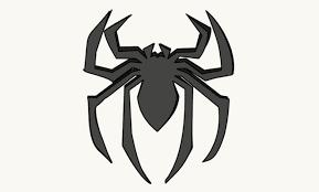 draw draw spiderman u0027s logo easy steps