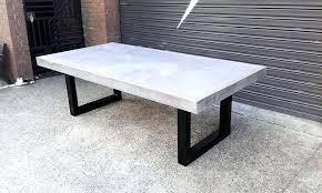 concrete top bar table concrete tables australia concrete bar table range corporate box