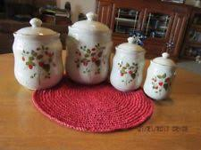 collectible kitchen canisters ebay