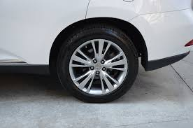 lexus rx wheels and tires 2013 lexus rx 350 stock b834bb for sale near chicago il il