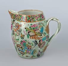 canton porcelain antique export canton porcelain cider jug