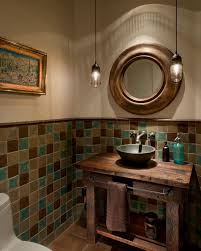 brown and turquoise bathroom lv designs