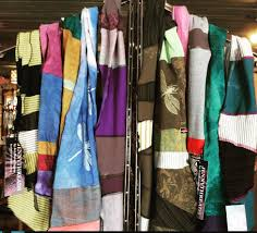 jennythreads scarves now at the dancing dragonfly in black