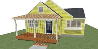 covered porch brey project part 1 covered front porch addition in bozeman