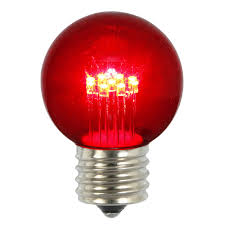 Red Led Light Bulb by Led Light Bulbs G50 Globe Light Replacement Bulbs String Lights