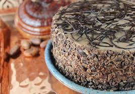 raw vegan chocolate cake recipe using cacao and superfoods