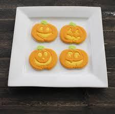 Halloween Pumpkin Sugar Cookies - happy halloween eat think u0026 be merry