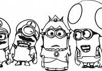 minion coloring pages free coloring pages