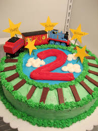thomas the train cake for son u0027s 2nd birthday chocolate mint