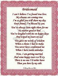 bridesmaid card wording the 25 best bridesmaid poems ideas on just engaged