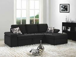 Black Leather Sleeper Sofa by Sleeper Sofas For Small Spaces 7184