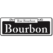 bourbon sign silhouette design store view design 15709 bourbon sign