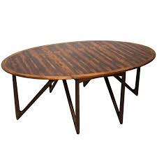 danish rosewood oval dining table by kurt østervig at 1stdibs