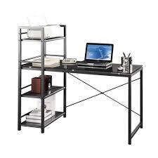 glass top computer desk glass workstation desk zamp co
