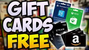 gift cards for free how to get free gift cards working 2017 free xbox live robux