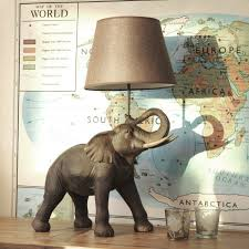 Elephant Decor For Home Decor Fill Your Home With Charming Elephant Lamp For Lighting