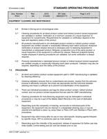 sop templates pharmaceutical production and process controls