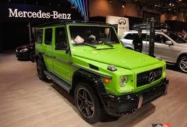 mercedes g wagon 2015 mercedes g class gets crazy new colors autoguide com news