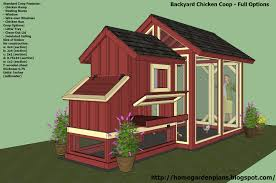 a simple chicken house with blueprints for a simple chicken coop