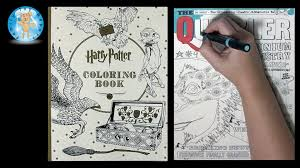 harry potter coloring book by scholastic the quibbler family toy