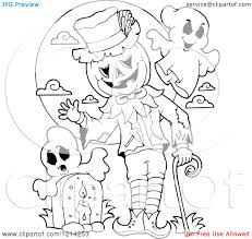 cartoon ghost coloring page for kids free printable picture