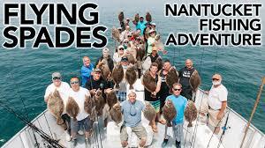 fluke fishing cape cod massachusetts flying spades youtube