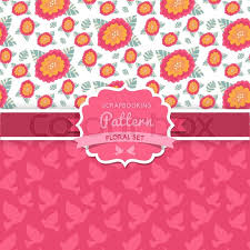 vector seamless patterns dove shabby chic floral patterns