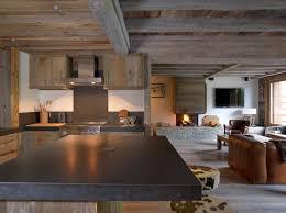 unit de mesure cuisine cuisine américaine avec îlot central kitchen with central