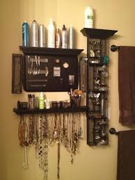 hair and makeup organizer diy bathroom makeup organizer mugeek vidalondon