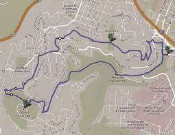 Portland Parking Map by Walks And Hikes In Portland And Beyond By Gordon Howard Council