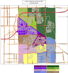 Map Of Greater Phoenix Area by Higley Az Unified District 2017 2018 Boundary Maps