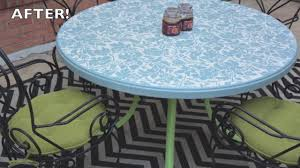 How To Paint Metal Patio Furniture How To Paint Outdoor Furniture Furniture Makeovers Thrift