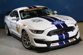 racing mustangs ford shelby gt350r c mustang to race in imsa continental tire series