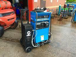 miller syncrowave 351 ac dc digital water cooled tig welding machine