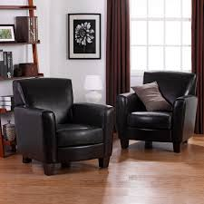 Leather Club Chair Dorel Living Nolan Bonded Leather Club Chairs 2pk Espresso
