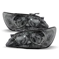 lexus is300 headlight assembly 2001 2005 lexus is300 replacement headlights smoked