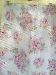 rachel ashwell shower curtain simply shabby chic blush beauty pink