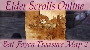 bal foyen treasure map bal foyen treasure map 2 elder scrolls eso ii