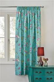 Teal Bird Curtains 16 Best Curtains For Living Room Images On Blinds