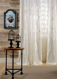 Sheer Window Treatments Fashion Design Modern Transparent Tulle Sheer Curtains For Window