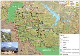 Drakensberg Mountains Map Amagug U0027esizwe Cca Maps