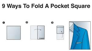 pocket folds how to fold a pocket square 9 different ways